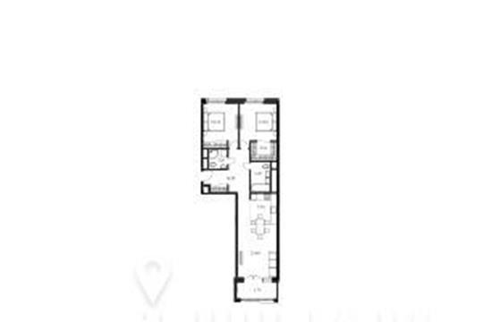 2-комнатная квартира, 82.2 м<sup>2</sup>, 7 этаж