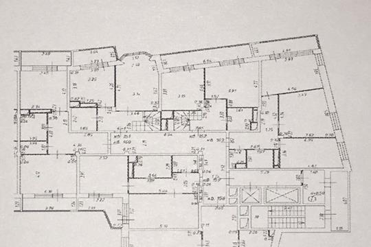 1-комнатная квартира, 51.6 м<sup>2</sup>, 10 этаж