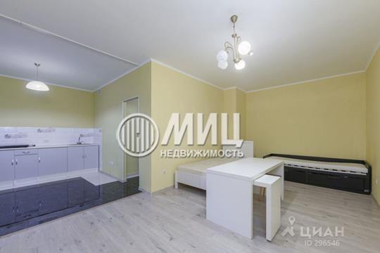 1-комнатная квартира, 42.5 м<sup>2</sup>, 1 этаж