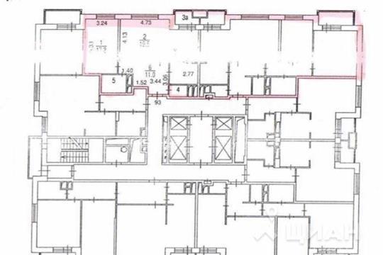 4-комнатная квартира, 156 м<sup>2</sup>, 15 этаж
