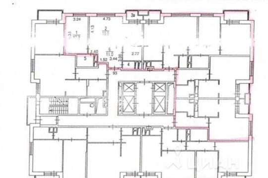Многокомнатная квартира, 250 м<sup>2</sup>, 15 этаж