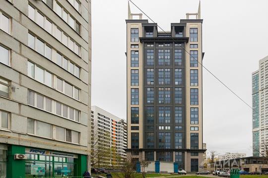 2-комнатная квартира, 65.7 м<sup>2</sup>, 11 этаж