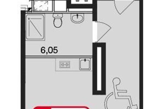 Студия, 37.96 м<sup>2</sup>, 8 этаж