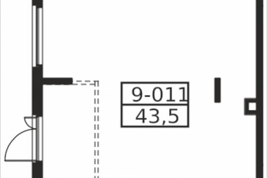 Помещение, 43.5 м2