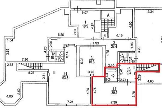 Офис, 4387 м2, класс B+