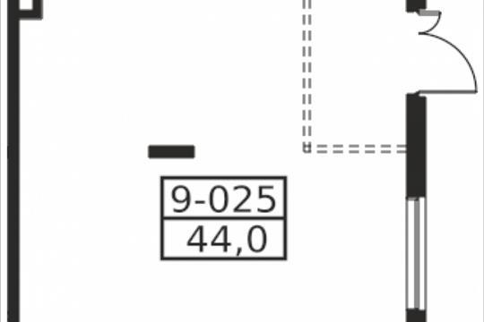 Помещение, 44 м2