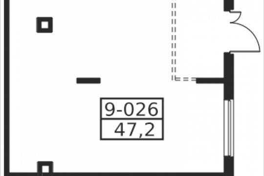 Помещение, 47.2 м2