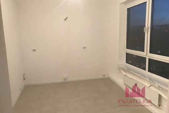 1-комнатная квартира, 47.6 м2, 18 этаж
