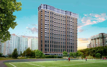 2-комнатная квартира, 66.37 м2, 17 этаж