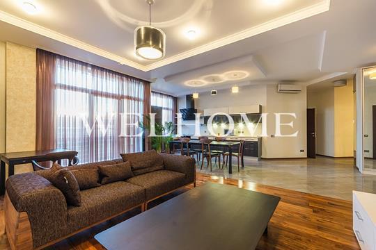 2-комн квартира, 120.5 м2, 4 этаж