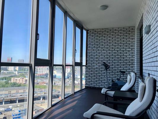 2-комн квартира, 78 м2, 20 этаж - фото 1