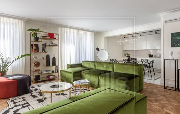 Многокомнатная квартира, 192 м2, 7 этаж