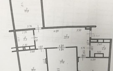 3-комн квартира, 110 м2, 17 этаж