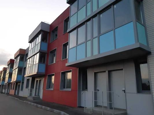 2-комн квартира, 60.9 м2, 1 этаж - фото 1