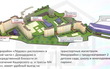 2-комн квартира, 61.76 м2, 9 этаж