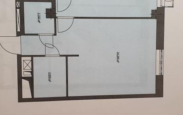 1-комн квартира, 48 м2, 2 этаж
