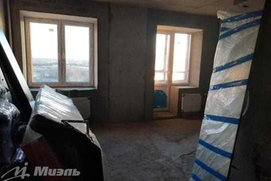 Студия, 28 м2, 14 этаж