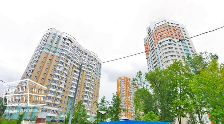 3-комн квартира, 81 м2, 6 этаж - фото 1
