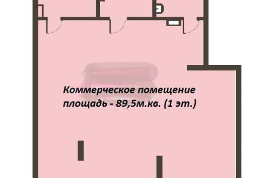 Склад, 89.5 м2, класс A