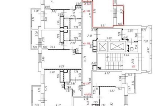 2-комн квартира, 46.8 м2, 8 этаж