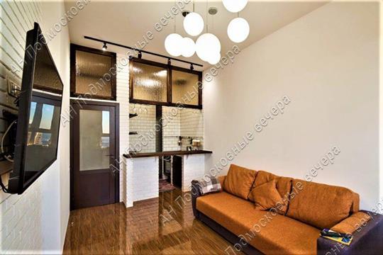2-комн квартира, 45 м2, 25 этаж