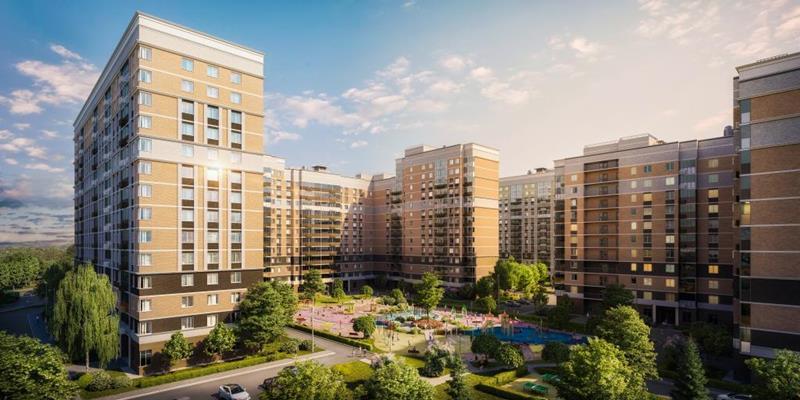 1-комн квартира, 37.97 м2, 13 этаж - фото 1