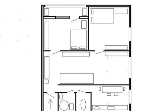 3-комн квартира, 51 м2, 7 этаж