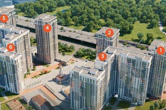 2-комн квартира, 63 м<sup>2</sup>, 13 этаж_1