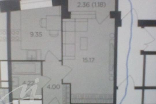 1-комн квартира, 35.1 м2, 10 этаж