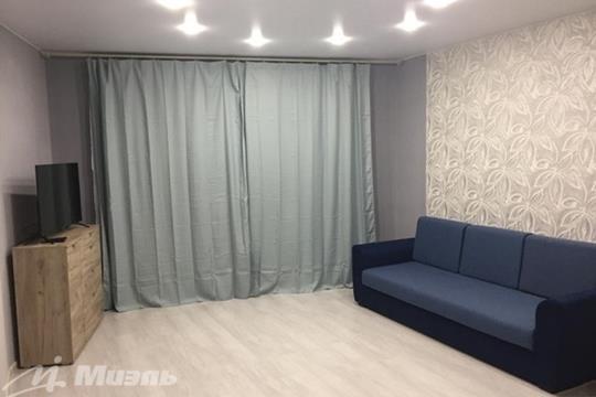 Студия, 35 м2, 4 этаж