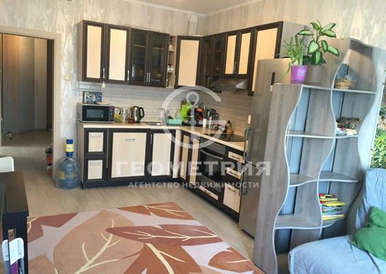2-комн квартира, 65 м2, 20 этаж - фото 1