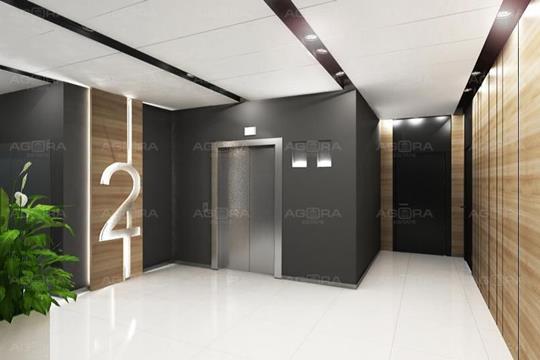 2-комн квартира, 65.4 м2, 2 этаж