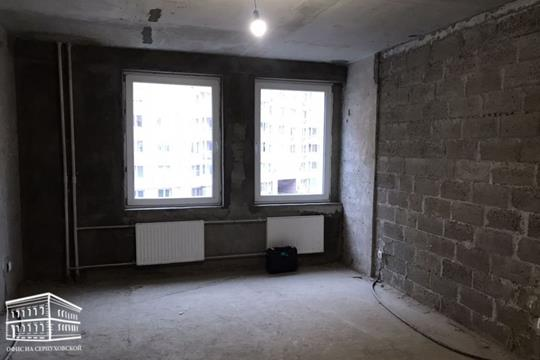1-комн квартира, 43.9 м2, 3 этаж