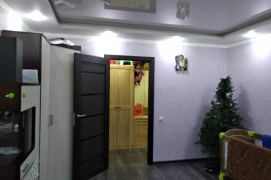 3-комн квартира, 62.5 м2, 2 этаж