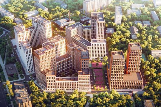 Многокомнатная квартира, 164 м2, 12 этаж