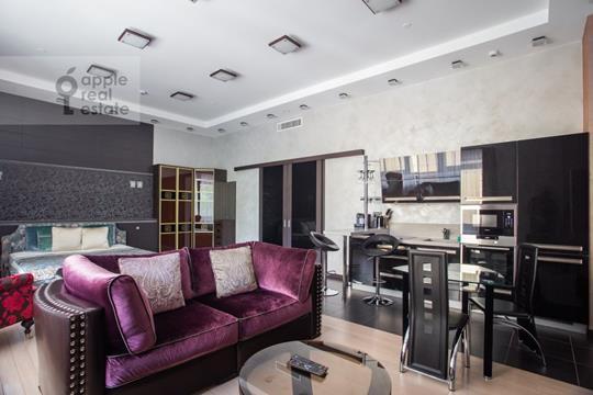 1-комн квартира, 60 м2, 2 этаж