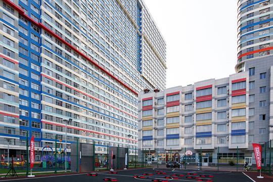 1-комн квартира, 63 м2, 33 этаж