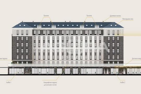 2-комн квартира, 36.2 м2, 3 этаж