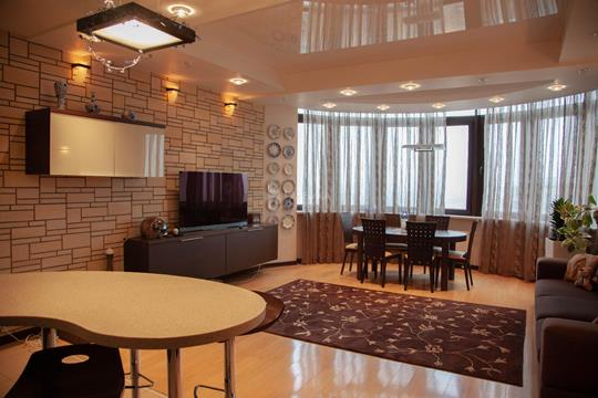 3-комн квартира, 142.5 м2, 17 этаж