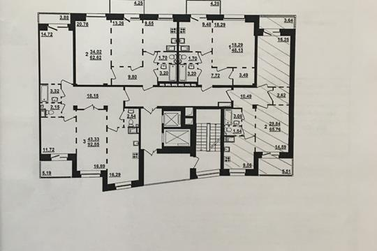2-комн квартира, 62 м2, 11 этаж