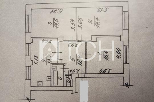 Комната в квартире, 80.4 м2, 4 этаж