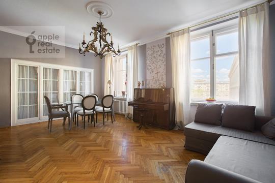 4-комн квартира, 110 м2, 6 этаж
