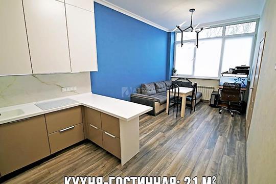 2-комн квартира, 57 м2, 1 этаж