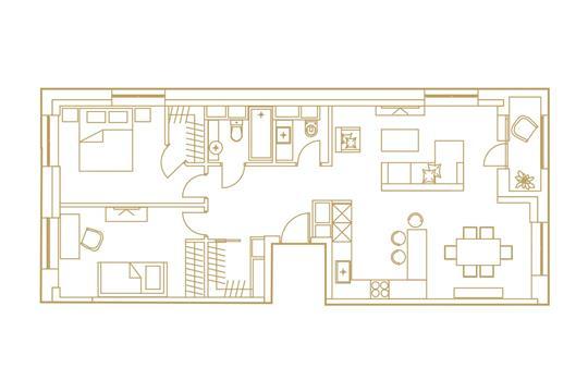 3-комн квартира, 84.8 м<sup>2</sup>, 15 этаж_1