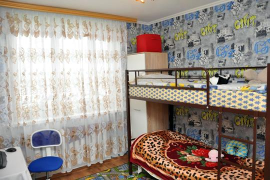 2-комн квартира, 44.8 м2, 1 этаж