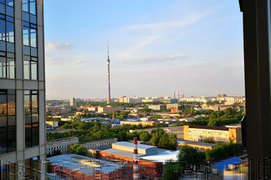 2-комн квартира, 134 м2, 46 этаж