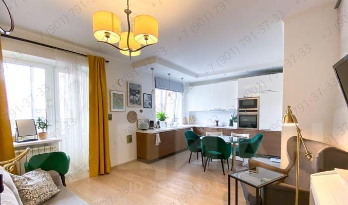 2-комн квартира, 47.2 м<sup>2</sup>, 4 этаж_1