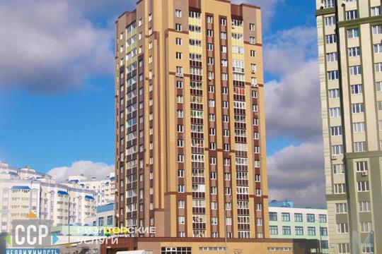 3-комн квартира, 74 м2, 3 этаж