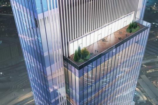 1-комн квартира, 51 м2, 31 этаж
