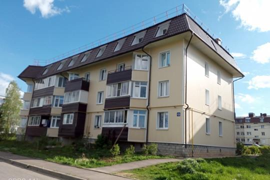 2-комн квартира, 43.9 м2, 4 этаж